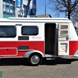 Eriba Touring Troll 530 rockabilly mei levering !